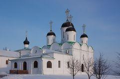 Spasskiy cathedral in Murom. Russia Royalty Free Stock Image