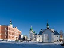 spasskiy klasztoru mur. Obraz Stock