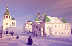Spasskiy monastery at Murom Stock Images