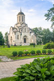 Spassky Cathedral of the Vernicle Image of the Saviour in the Andronikov monastery, Moscow. Stock Photos