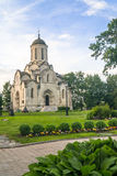 Spassky Cathedral of the Vernicle Image of the Saviour in the Andronikov monastery, Moscow. Stock Image