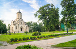 Spassky Cathedral of the Vernicle Image of the Saviour in the Andronikov monastery, Moscow. Royalty Free Stock Images