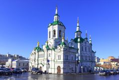 Spassky church in Tyumen Stock Photos