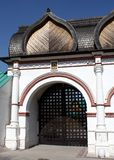 Spassky Gate of estate Kolomenskoe Royalty Free Stock Images