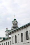 Spassky monasteru dzwonnica w lecie obrazy royalty free