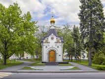 Spassky or Spasskaya chapel in the Nizhny Novgorod Kremlin. Russi Stock Images