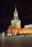 Spassky Tower of Moscow Kremlin Royalty Free Stock Images