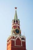 Spassky Tower of Moscow Kremlin. Stock Photos