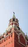 Spassky Tower of Moscow Kremlin. Stock Photography