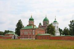 Spasso-Borodino Kloster Lizenzfreie Stockbilder