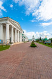 Spasso-Yakovlevsky修道院 免版税库存图片