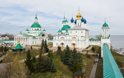Spasso-Yakovlevsky Monastery Stock Photo