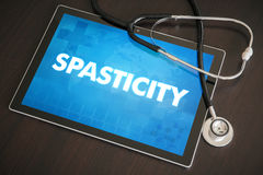 Spasticity (neurological disorder) diagnosis medical concept on Stock Images