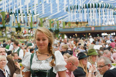Spaten Octoberfest Smile Stock Photography