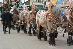 Spatenbrau Beer Carriage with Horses Royalty Free Stock Image