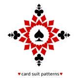 Spatenkarten-Klagenschneeflocke Lizenzfreies Stockfoto