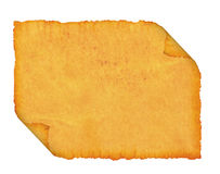 Spatie. Een oude papyrus. stock foto