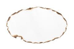Spatie gebrand document kader Royalty-vrije Stock Foto