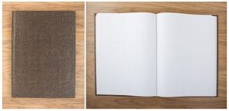 Spatie geregelde notitieboekjebladen op een lijst Notitieboekje met hierogly Royalty-vrije Stock Afbeeldingen