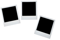 Spatie photoframe royalty-vrije stock foto