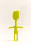 Spatola della spazzola degli aggeggi della cucina Fotografia Stock Libera da Diritti