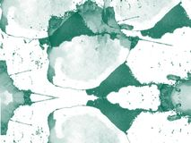 Spattered abstrakcjonistyczna akwarela dla tła i all over Zdjęcia Stock
