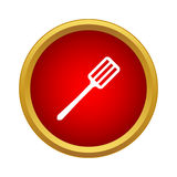 Spatula icon in simple style Royalty Free Stock Photo