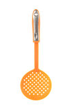 Spatula Isolated - Clipping path. Plastic Spatula Isolated over white background stock images