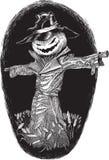 Spauracchio di Halloween Fotografia Stock Libera da Diritti