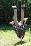 Spaventapasseri capovolto Fotografia Stock Libera da Diritti