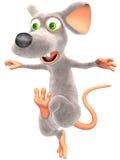 Spavento del mouse Fotografia Stock Libera da Diritti
