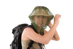 Spavento della zanzara Fotografia Stock Libera da Diritti