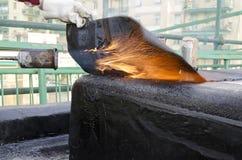 Spawać wodoodporny sheath Obrazy Stock
