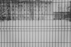 Spawająca druciana siatka czarny i biały Zdjęcia Royalty Free