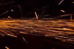 Spawalnicza Kruszcowa struktura z płomienia tła fotografią zdjęcie stock
