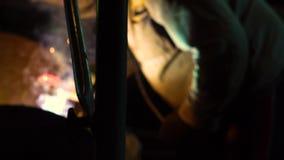 Spawalnicze żelazo iskry zbiory