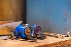 Spawalniczy wyposażenie fotografia stock