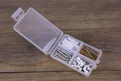 Spax-Schrauben-Ausrüstung Lizenzfreies Stockbild