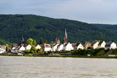 Spay at the Rhine Royalty Free Stock Photo