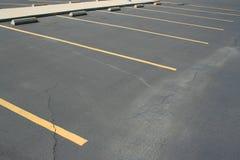 Spazi di parcheggio Fotografie Stock