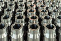 Spazii in bianco d'acciaio per l'asta di perforazione Immagini Stock Libere da Diritti