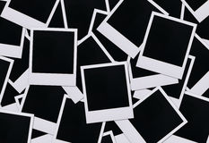 Spazii in bianco della pellicola del Polaroid Fotografia Stock Libera da Diritti