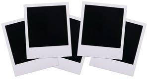 Spazii in bianco della pellicola del Polaroid Fotografie Stock Libere da Diritti