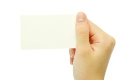 Spazii in bianco della scheda disponibili Fotografia Stock Libera da Diritti