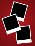 Spazii in bianco di Instamatic Fotografia Stock Libera da Diritti