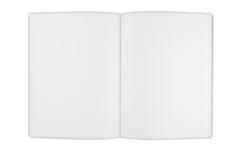 Spazio in bianco del libro Immagine Stock Libera da Diritti