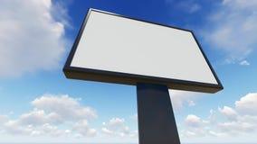 Spazio in bianco del tabellone per le affissioni per il manifesto all'aperto di pubblicità royalty illustrazione gratis