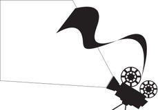 Spazio in bianco dettagliato del proiettore Fotografia Stock Libera da Diritti