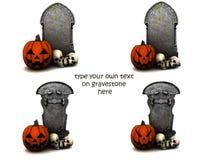Spazio in bianco per Halloween Immagini Stock Libere da Diritti