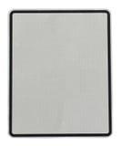Spazio in bianco reale del segno di via per lo spazio della copia Immagini Stock